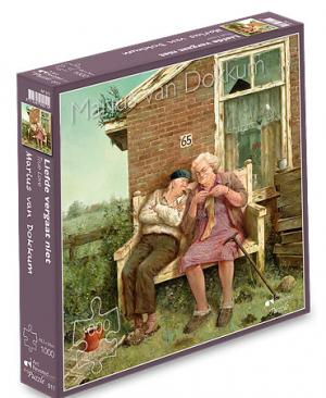 Liefde vergaat niet - puzzel 1000 stuks - Art Revisited 011