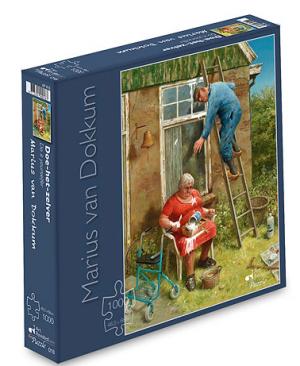 Doe-het-zelver - puzzel 1000 stuks - Art Revisited 018
