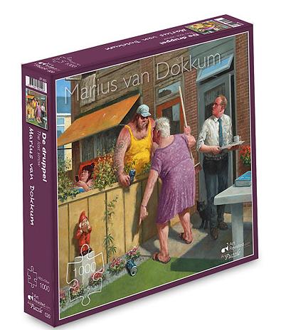 De druppel – puzzel 1000 stuks – Art Revisited 020