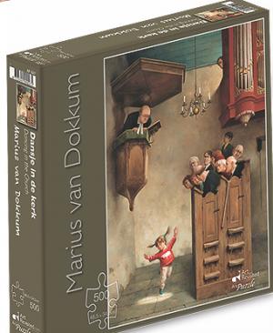 Dansje in de kerk - puzzel 500 stuks - Art Revisited 027
