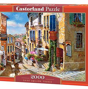Saint Emilion, France - puzzel 2000 stuks - Castorland 740-2