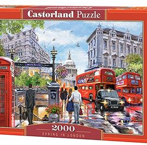 Spring in London - puzzel 2000 stuks - Castorland 788-2