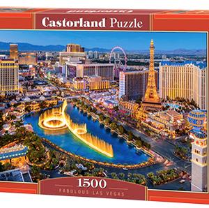 Fabulous Las Vegas - puzzel 1500 stuks - Castorland 882-2