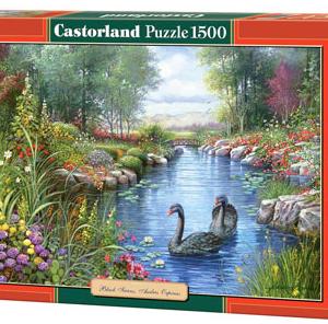 Black Swans, Andres Orpinas - puzzel 1500 stuks - Castorland 042-2