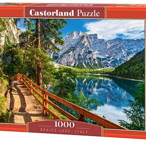 Braies lake, Italy - puzzel 1000 stuks - Castorland 109-2