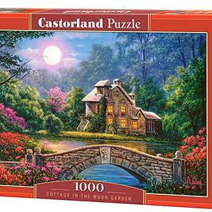 Cottage in the moon garden - puzzel 1000 stuks - Castorland 208-2