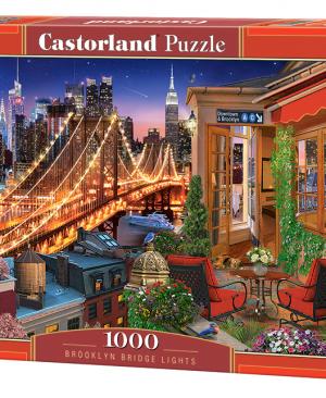 Brooklyn Bridge Light - puzzel 1000 stuks - Casterland