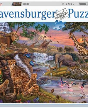 Dierenrijk - 3000 stuks - Ravensburger 164653