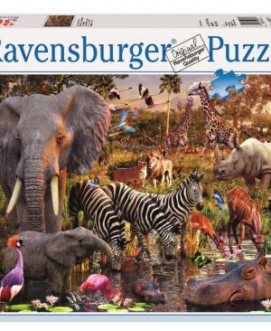 Afrikaanse dierenwereld - 3000 stuks - Ravensburger 170371