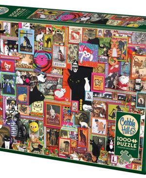Catsville - puzzel 1000 stuks - Cobble Hill 80167