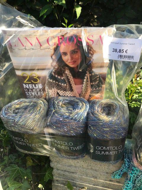 Gomitolo Summer Tweed kleur 0010