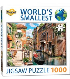 Venice Canals - World's smallest jigsaw Puzzel - 1000 stuks