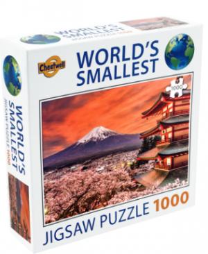 Mount Fuji, Japan - puzzel 1000 stuks - World's smallest