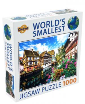 Strasbourg - puzzel 1000 stuks - World's smallerst