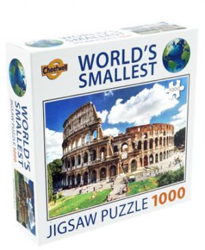 The Colosseum, Rome - puzzel 1000 stuks - World's smallest