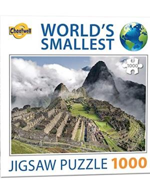 Machu Pichu - puzzel 1000 stuks - World's smallest