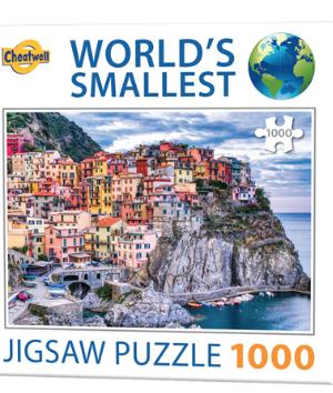 Manarola, Italy - puzzel 1000 stuks - World's smallest