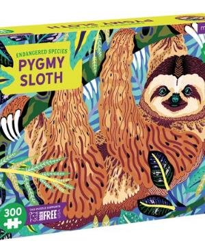 Endangered species, Pygmy Sloth - puzzel 300 stuks - Mudpuppy