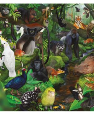 Endangered Species n°1 Tropical Rainforest - puzzel 1000st - Treecer