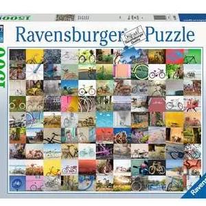 99 fietsen en meer... - puzzel 1500 stuks - Ravensburger