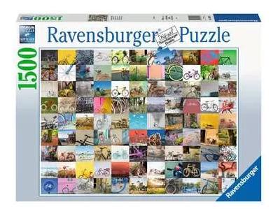 99 fietsen en meer… – puzzel 1500 stuks – Ravensburger