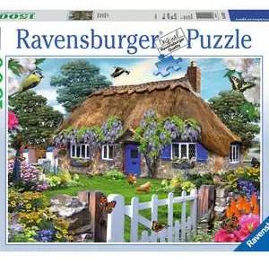 Cottage in Engeland - puzzel 1500 stuks - Ravensburger