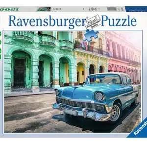 Cuba Cars 167104 - puzzel 1500 stuks - Ravensburger