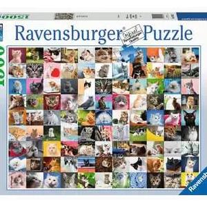 99 katten 162352 - puzzels 1500 stuks - Ravensburger