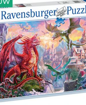 Drakenland 167173 - puzzel 1500 stuks - Ravensburger