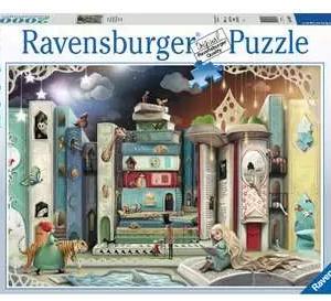De straat van de romans 164639 - puzzel 2000 stuks - Ravensburger