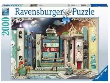 De straat van de romans 164639 – puzzel 2000 stuks – Ravensburger