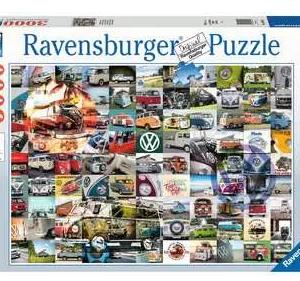 VW Bulli moments 160181 - puzzel 3000 stuks - Ravensburger