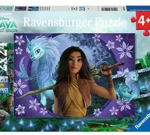 Sisu, de laatste draak - puzzel 2x24 stuks - Ravensburger 050970