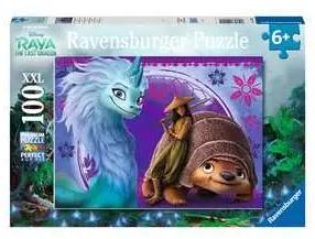 De fantastische wereld van Raya - puzzel 100 XXL stuks - Ravensburger 129201