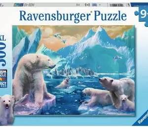 In het rijk van de ijsbeer - puzzel 300 stuks - Ravensburger 129478