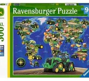 De wereld van John Deere - puzzel 300 stuks - Ravensburger 129843