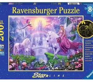 Magische eenhoornnacht - puzzel 200 stuks - Ravensburger 129034