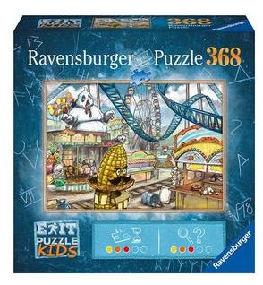 Escape; In het pretpark - puzzel 368 stuks - Ravensburger 129362