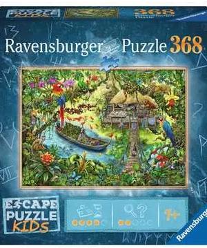 Escape; De jungle expeditie - puzzel 368 stuks - Ravensburger 129348
