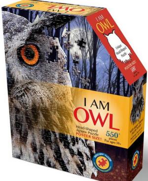 I am Owl - puzzel 550 stuks - Madd Capp puzzles