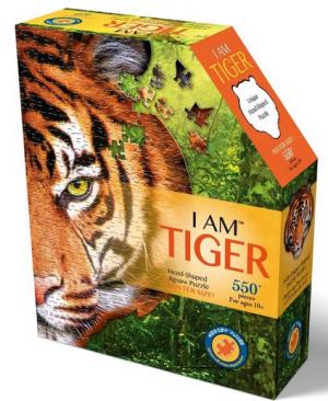 I am Tiger - puzzel 550 stuks - Madd Capp puzzles