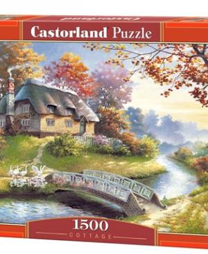 Cottage - puzzel 1500 stuks - Castorland 150359(2)
