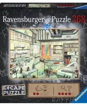 Chemistry lab - puzzel 368 stuks - Ravensburger 168446