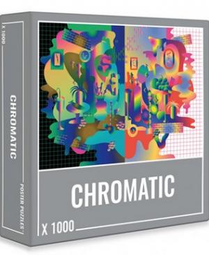 Chromatic - puzzel 1000 stuks - Cloudberries