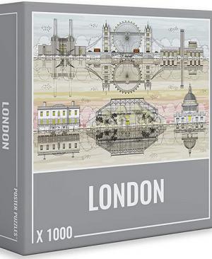 London - puzzel 1000 stuks - Cloudberries