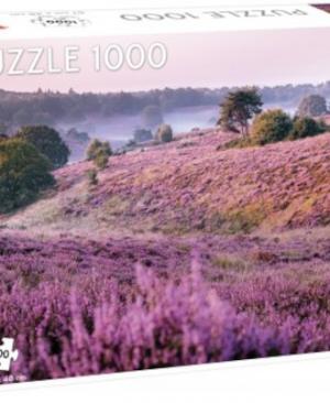 Moors covered in heather - puzzel 1000 stuks - Tactic