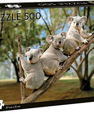 Koalas - puzzel 500 stuks - Tactic