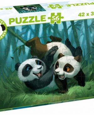 Panda stars 55681 - puzzel 56 stuks - Tactic