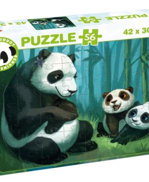 Panda Stars 55695 - puzzel 56 stuks - Tactic