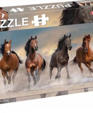 Wild horses - puzzel 56 stuks - Tactic